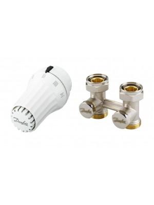 DANFOSS set priamy - termostatická hlavica RAE 5054 a priame šróbenie RLV-KS 013G5097