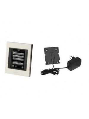 Bezdrôtový riadiaci systém s farebným dotykovým displejom living by Danfoss; Danfoss Link CC WiFi PSU Riadiaca jednotka s displejom, fixný prívod napájania do zásuvky, vrátane zdroja 014G0289