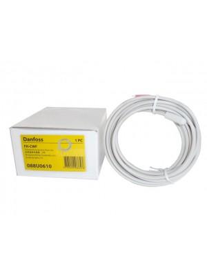 DANFOSS Priestorový termostat FH-WTx BasicPlus2 napájanie 230V napájanie s napäťovým kontaktom* : FH-WF Senzor teploty podlahy; 3m kábel 088U0610