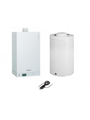 VIESSMANN zostava Vitodens 100-W 19 kW + Vitocell 100-W + snímač teploty zásobníka B1HC059