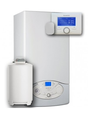 ARISTON CLAS PREMIUM EVO SYSTEM 24 zásobník vody BCH 120 + nožičky pro BCH 12 SENSYS (3318615) + vonkajší snímač (3318588)